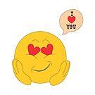 Emoticon in Love by culturageekstor
