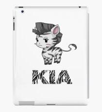 Zebra Kia iPad Case/Skin