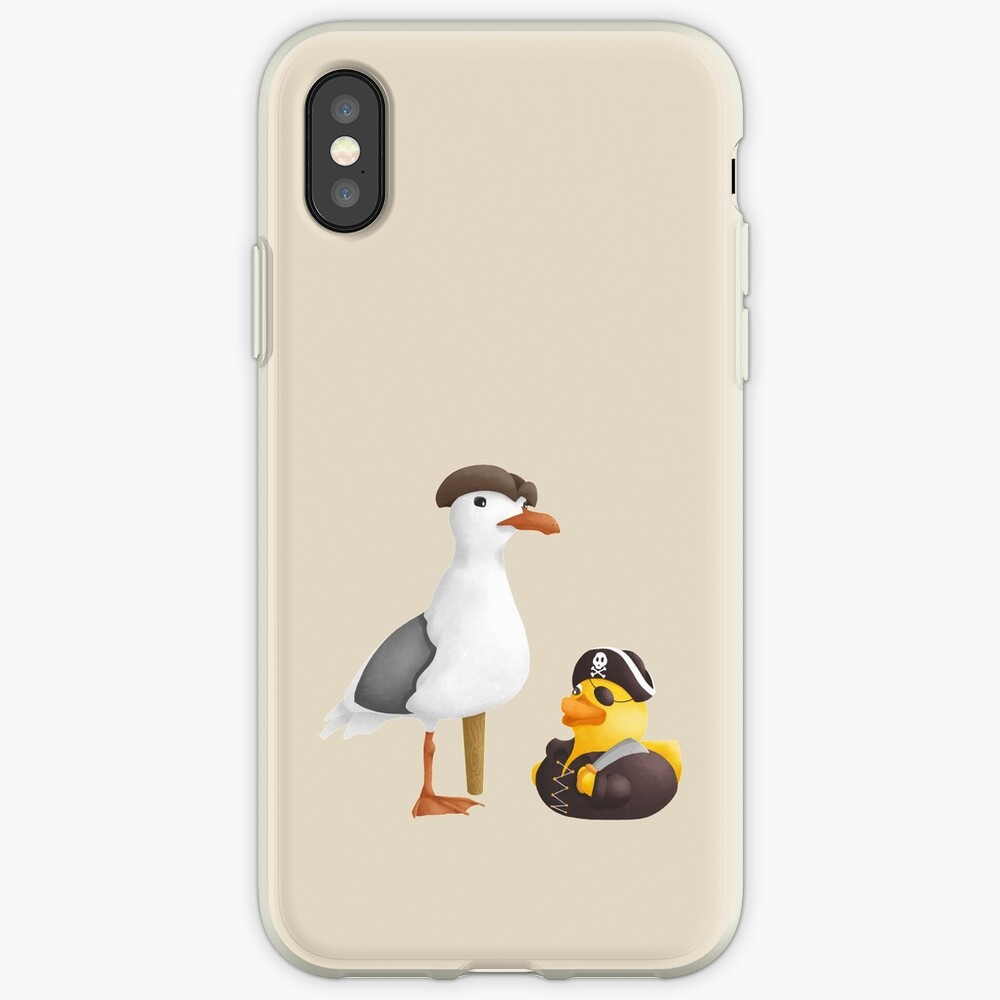 Gummiente und Seagull Pirates iPhone-Hülle & Cover