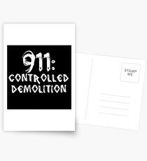 911: Controlled Demolition Postcards