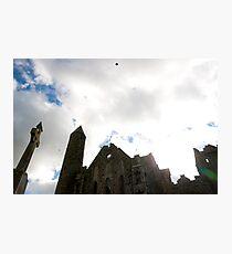 the historic rock of Cashel landmark Photographic Print