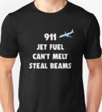 911 Jet Fuel Can't Melt Steal Beams Unisex T-Shirt