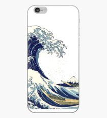 The Great Wave off Kanagawa by Hokusai iPhone Case