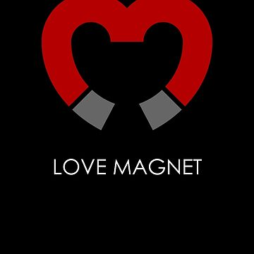 Love Magnet White by Oomazing