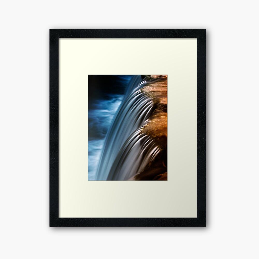 waterfall4 Framed Art Print