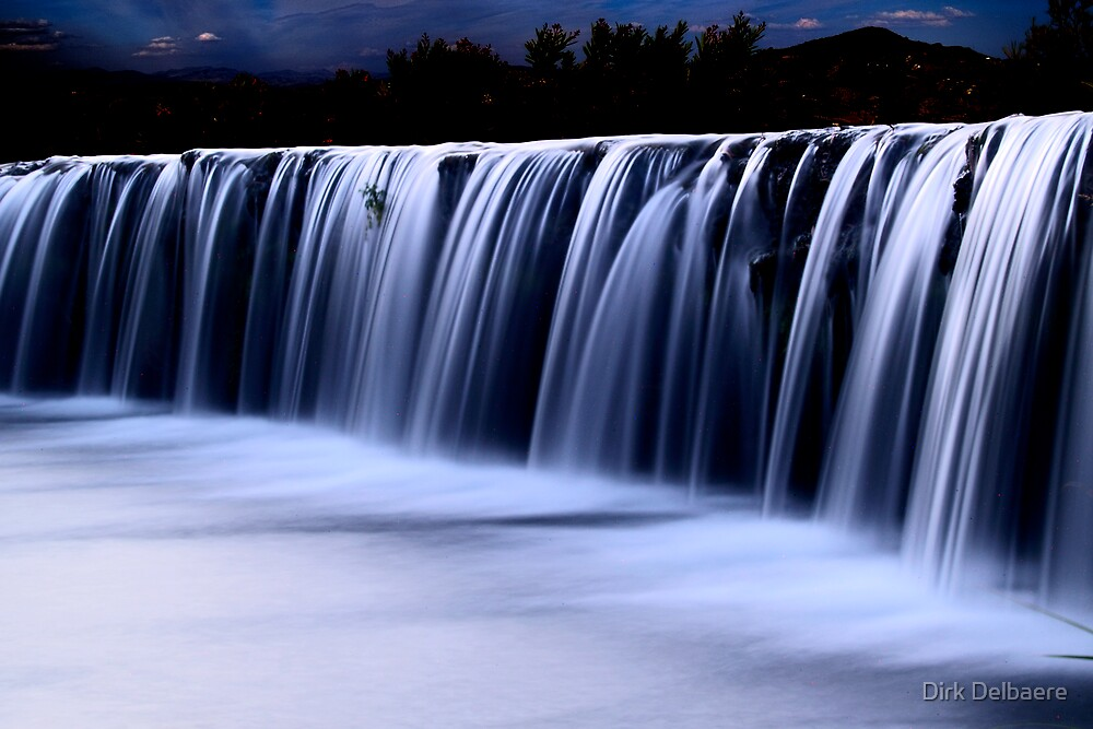 Waterfall 7 by Dirk Delbaere