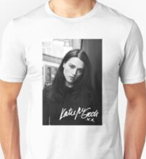 Katie McGrath | Black and White Unisex T-Shirt