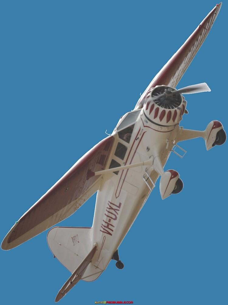Plane & Simple - Stinson SR8 VH-UXL by muz2142