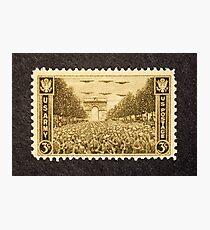 1945 3c Army Postage Stamp Photographic Print