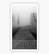 Mysterious Sticker