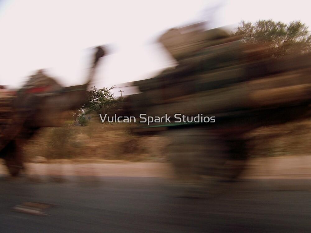 Camel Carts by Vulcan Spark Studios