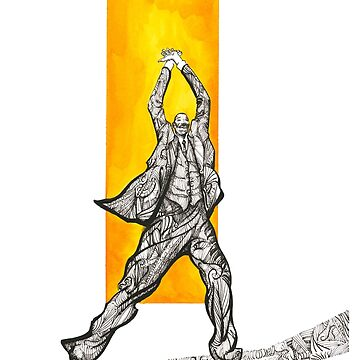 Jazz Dancer, Al Minns by ryancallowayart