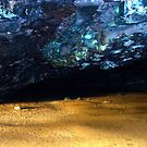 The Blue Cave - Kauai: For Darrell Wayne Kahililaulani Rawlins by RoyAllen Hunt