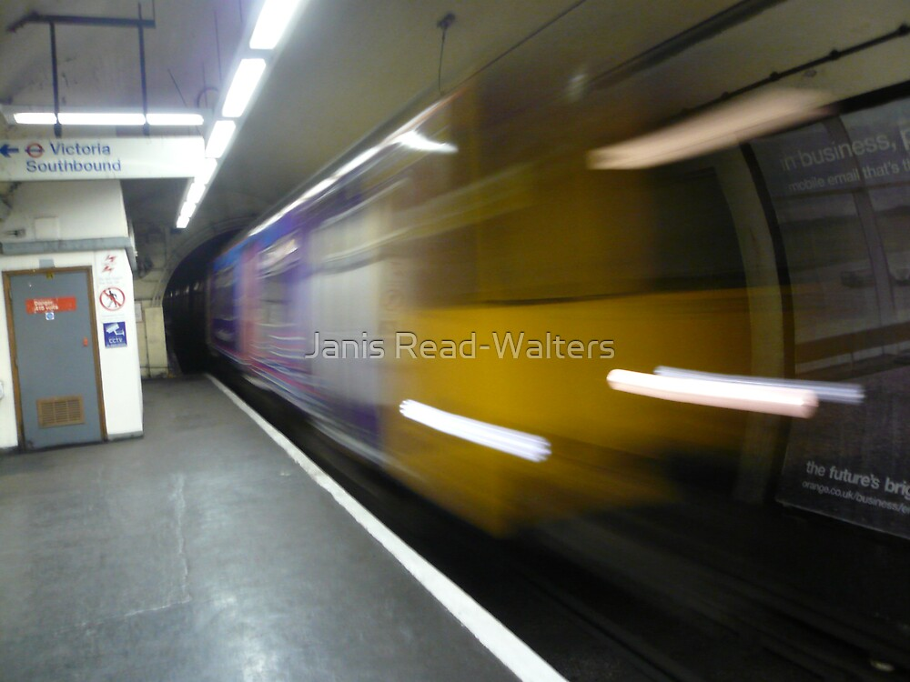 ghost train by Janis Read-Walters