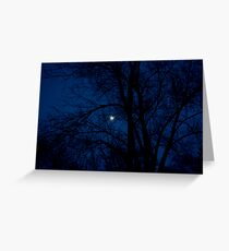Rising Moon Greeting Card