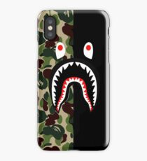 Shark Case Bape iPhone Case/Skin