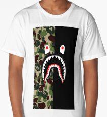 Shark Case Bape Long T-Shirt