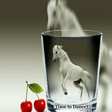 Dancing Horse In A Glass by treasureart