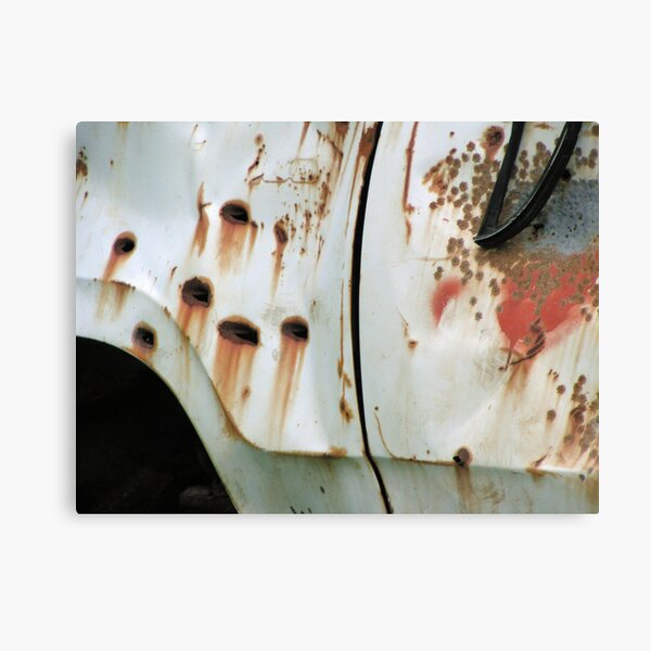 Shot Truck Canvas Print