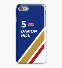 F1 Legends - Damon Hill [Williams] iPhone Case/Skin