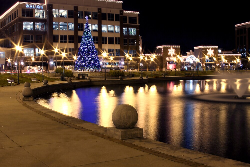 newport news city center christmas tree by marc payne photography