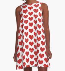 sex heart A-Line Dress