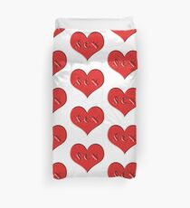 sex heart Duvet Cover