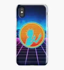 Rick and Morty Synthwave iPhone Case/Skin