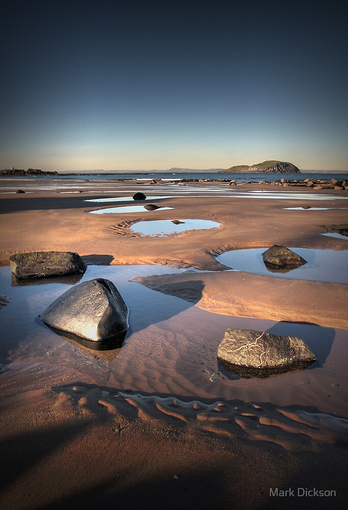 Beach stones by Mark Dickson
