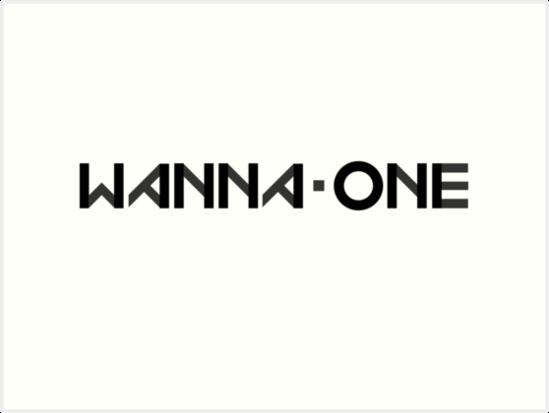 """Wanna One kpop logo"" Art Prints by Aprilio | Redbubble"
