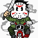 Killer on minibike by PaunLiviu