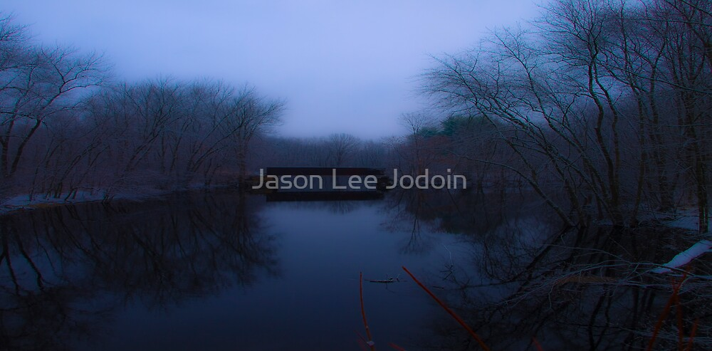 Ipswich River in Winter by Jason Lee Jodoin