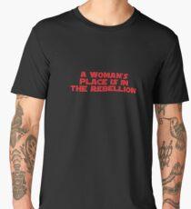 Rebellious Women (red, bold) Men's Premium T-Shirt