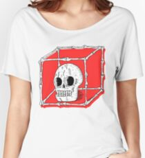 Skull Cage Women's Relaxed Fit T-Shirt