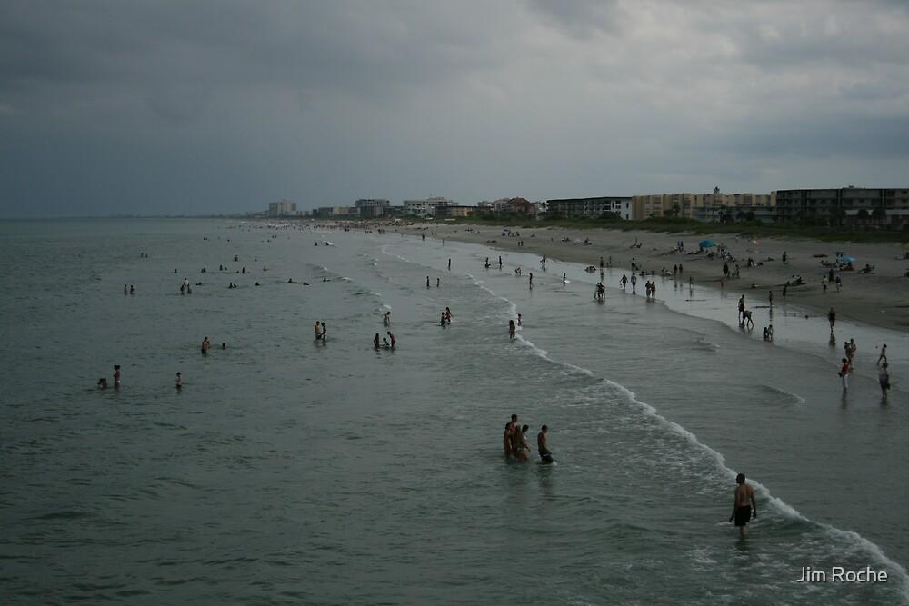 Ccoca Beach South by Jim Roche