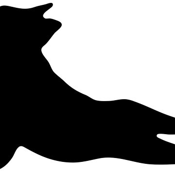 French Bulldog Yoga Puppy- Pet Lover, Awesome Dog Silhouette by Mia-Kara