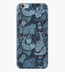 Arctic animals iPhone Case