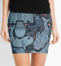 Arctic animals Mini Skirt