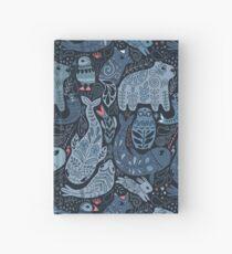 Arktische Tiere Notizbuch