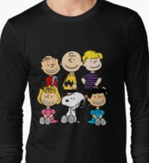 Peanuts - Charlie Brown, Snoopy Long Sleeve T-Shirt