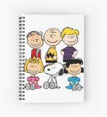 Peanuts - Charlie Brown, Snoopy Spiral Notebook