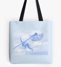 Blue Breeze Fairy Tote Bag