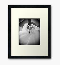 Whirling Dirvish Framed Print