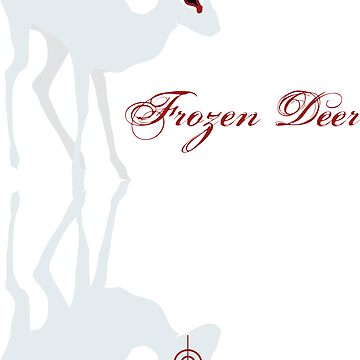 frozen deer by theearlybird