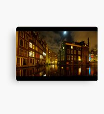 Nighttime Canvas Print