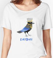 London Raven Women's Relaxed Fit T-Shirt
