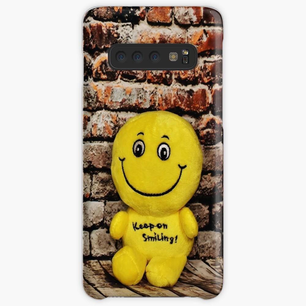 Lächeln für den Happy Day Hülle & Klebefolie für Samsung Galaxy