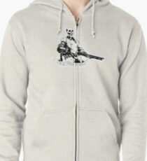 Skull Fiction Marsellus Wallace Zipped Hoodie
