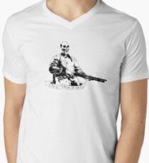 Skull Fiction Marsellus Wallace Men's V-Neck T-Shirt