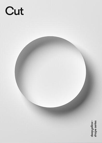 Cut Poster - Deepshape Series  by deepyellow